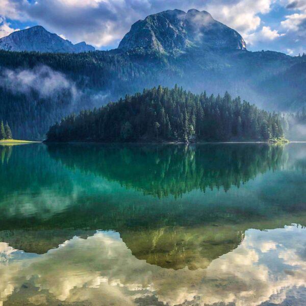 crno jezero zabljak nacionalni park durmitor