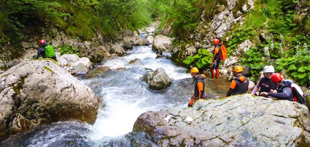 Canyoning Hrcavka National Park Sutjeska