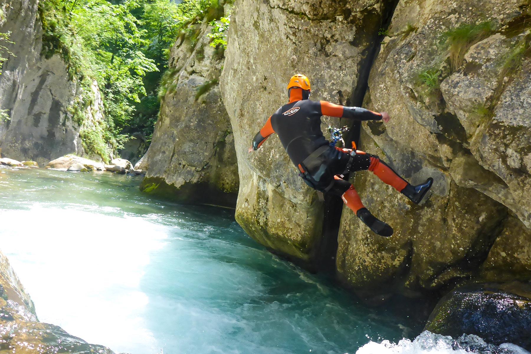kanjoning hrcavka sutjeska nacionalni park