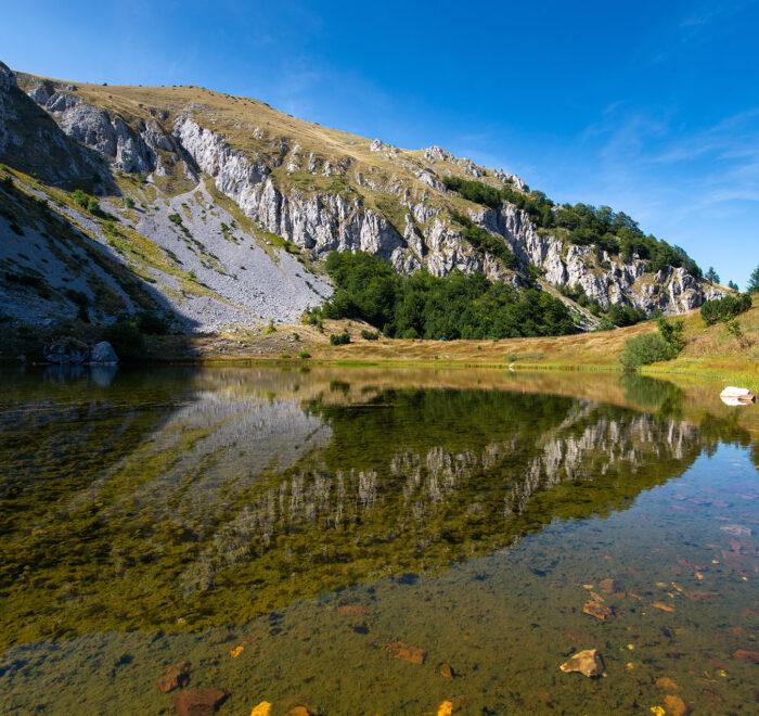 "Lake ""Gornje Bare"" Zelengora"