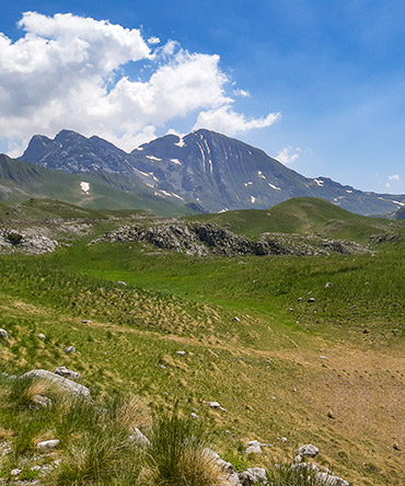Prutas mountain National park Durmitor