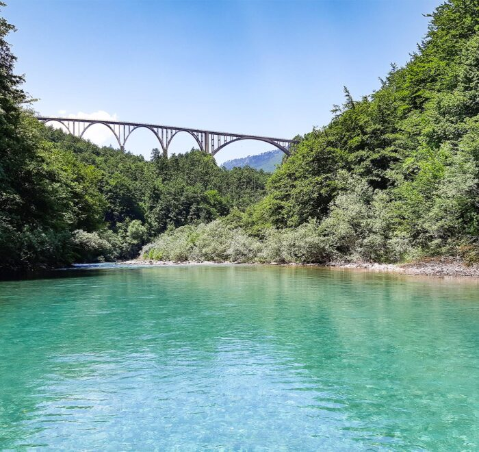 Tara River Canyon Djurdjevica Tara bridge