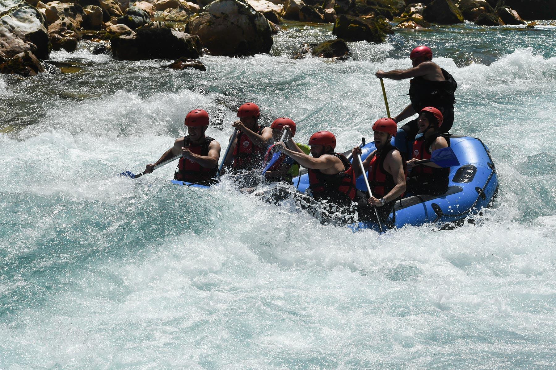 Tara River rafting rapids