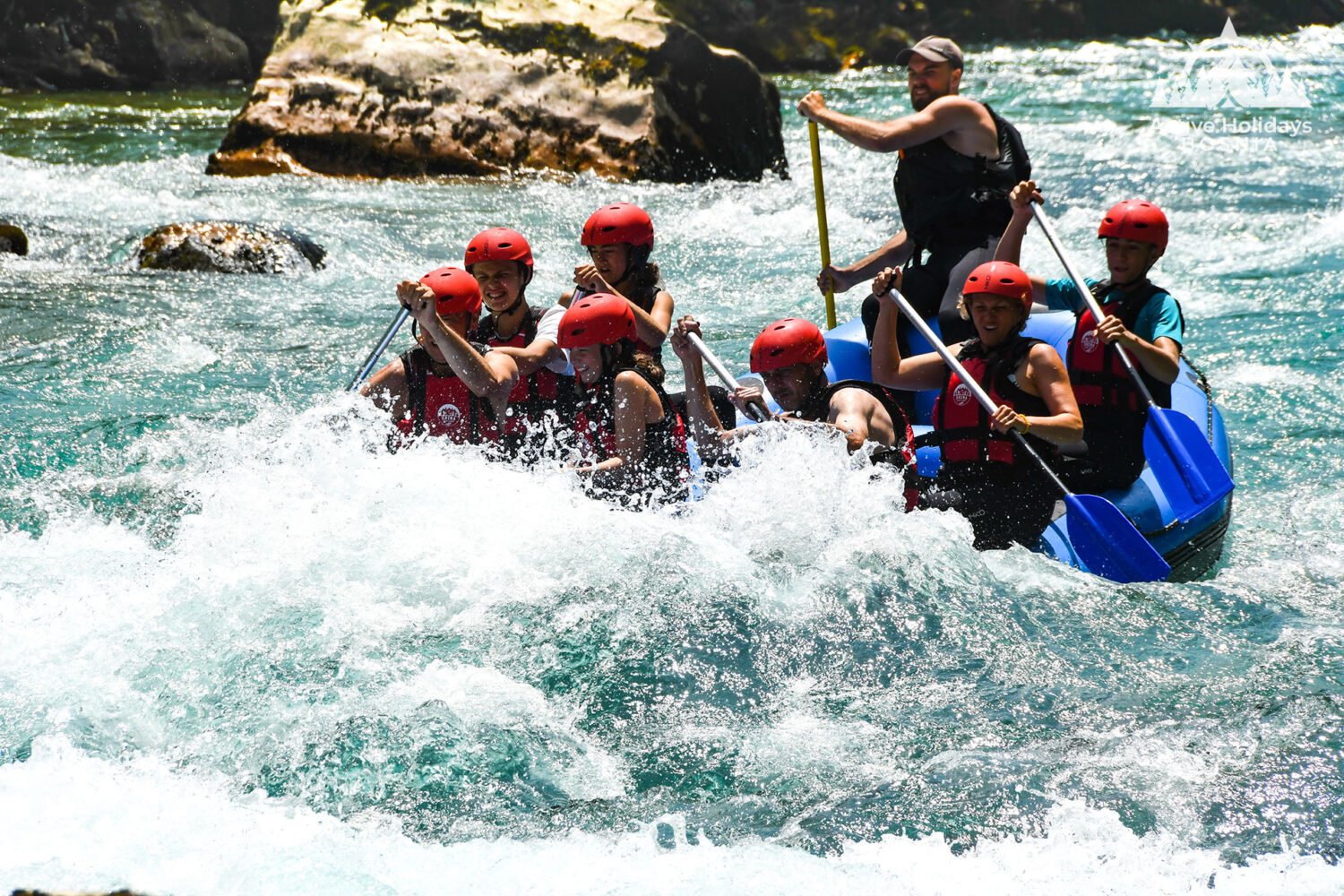 Tara River white water rafting