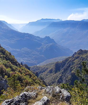 pogled na kanjon tare