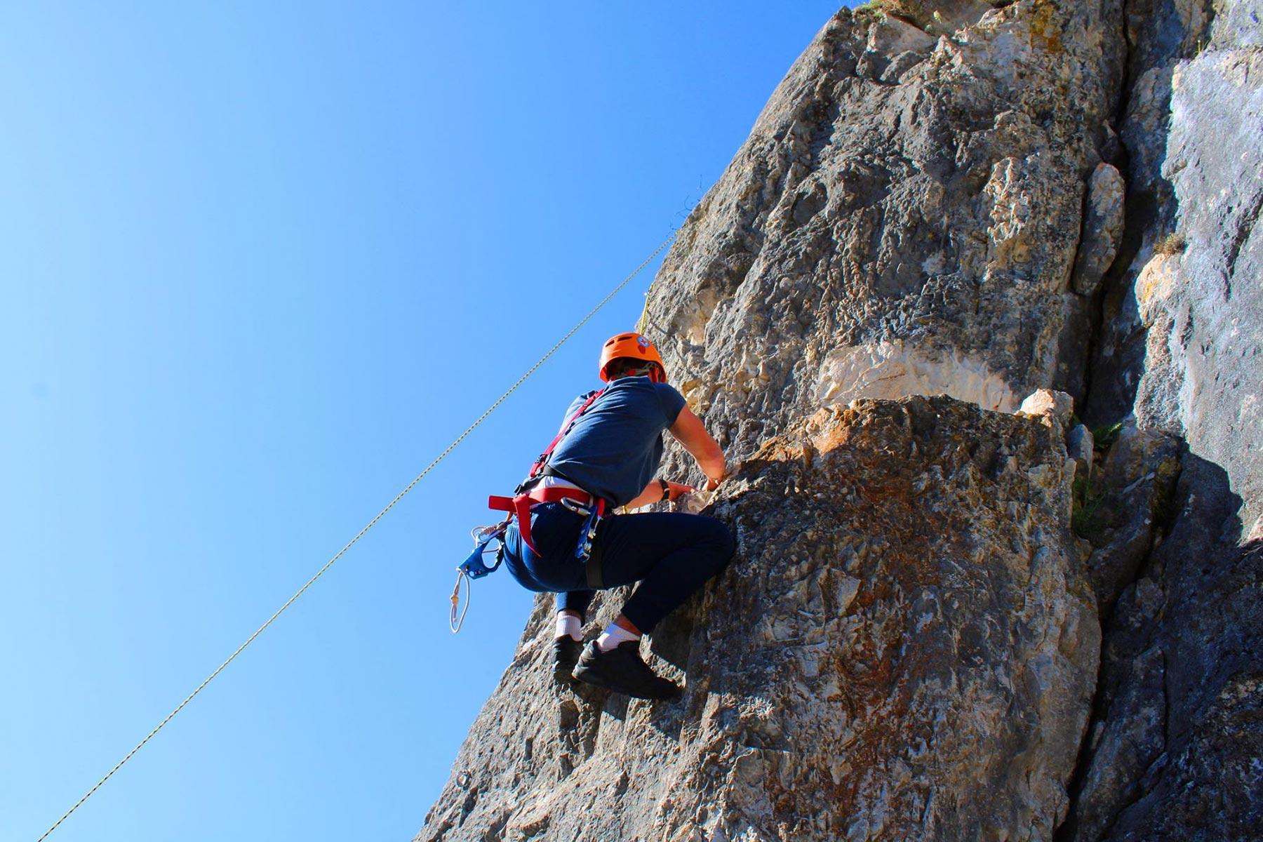 ozren free climbing
