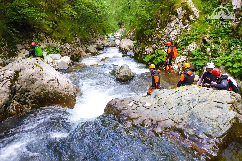 Canyoning Hrcavka Sutjeska national park