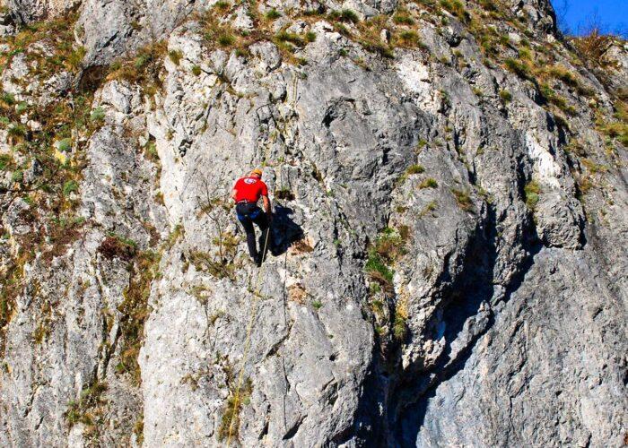 free climbing tour Foca rock climbing