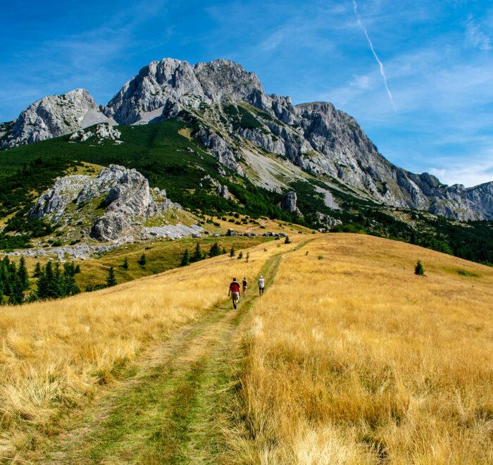 Maglic highest peak in Bosnia and Herzegovina