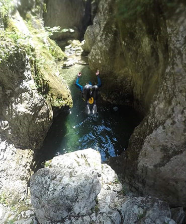 Canyoning Nevidio